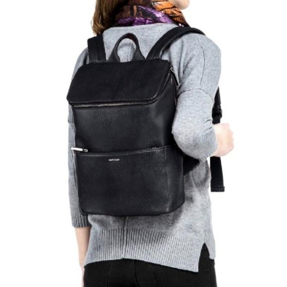 77a5f95c03 NWT Matt   Nat Brave Leather Backpack